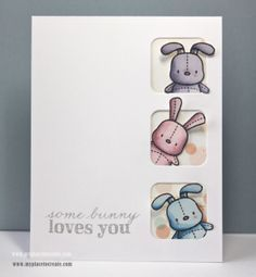 mama elephant honey bunny stamp set - Google Search