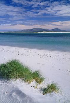 View of Lub Bhan on Benbecula, Western Isles, Scotland. The Outer Hebrides.