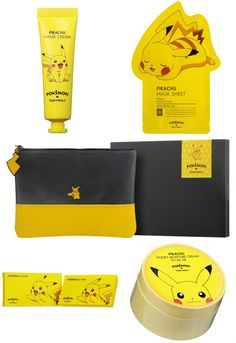 Shop these cute Tony Moly Pikachu Beauty products from YesStyle NOW!