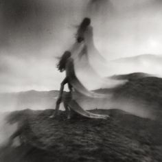 Dutch photographer Nona Limmen is based in Amsterdam, but her marvelous analog photos capture visions of a vast, mystical world nebulously bordering our own. This mysterious land, woven of dreams a… Blur Photography, Gothic Photography, Abstract Photography, Portrait Photography, Sadness Photography, Mysterious Photography, Halloween Photography, Multiple Exposure, Double Exposure