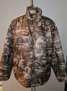 268ceedb67ef2 Red Head camo winter hunting coat fiber filled mens L jacket puffer  camouflage #fashion #