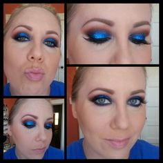 Fan makeup..going to the Islanders game!