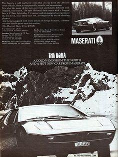 Maserati Bora advert