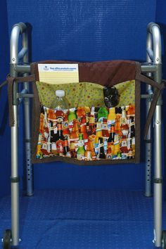 Walker bag walker tote purse assisted living by DreamersStudio, $23.99
