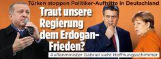 Traut unsere Regierung  dem Erdogan-Frieden?