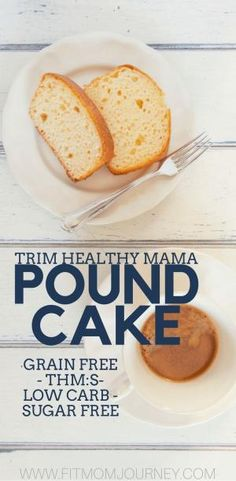 Trim Healthy Mama Pound Cake has tons of uses, from strawberry shortcake, to bread putting and beyond. Plus, it's grain free, keto, sugar free, low carb, and more! by jami