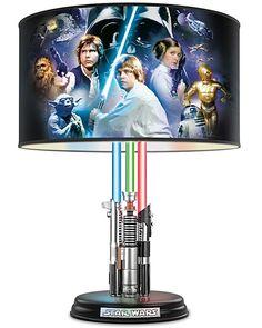 Star Wars Original Trilogy Illuminated Lightsaber Lamp