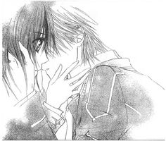 Wait what? Haha this is what I get for only watching the anime a by reading the manga- vampire knight