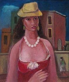 Mulatto - Oil on Canvas - Di Cavalcanti.3d