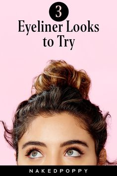 """Learn these 3 easy liquid eyeliner tutorials for beginners - If you're a liquid liner newbie, a few pointers can help make it a breeze. First, """"get as close to the mirror as you possibly can,"""" Turner says. A magnifying mirror is even better; this way, you'll be able to see exactly what you're doing. She also advises clients to take their time. Liquid eyeliner tutorial 