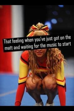 In that moment all of your nerves are racing at once and you;re waiting for the music to start so you can breathe again. THis moment >>>