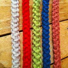 Cordon roumain au crochet tutoriel facile