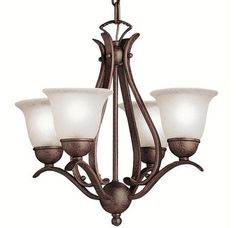 View the Kichler 2019 Dover Mini Chandelier - 18 Inches Wide at LightingDirect.com.