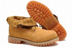 sports shoes 234dd c23b9 Timberland Authentic 6 Inch Boot - Wheat and Black For Men with Zipper. Chaussures  Homme