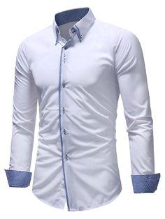Formelle Hommes Italien de robe décontracté et Luxe Createur Regular Fit Chemises