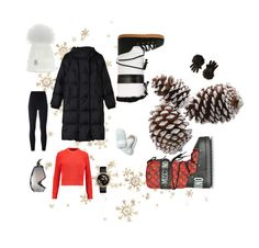 """""""❄️❄️❄️#uludag style"""" by sabilatifova ❤ liked on Polyvore featuring Chanel, Moschino, Gérard Darel, T By Alexander Wang, adidas Originals, Oakley, Banana Republic and Kate Spade"""