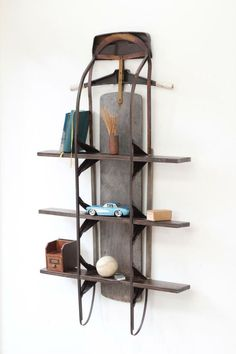 Vintage Sled Shelf by Eastchester & Orange available at Withal now. The place to get inspired goods by local makers.