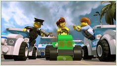 Watch the LEGO City Undercover Xbox One video game trailer here Xbox One Video Games, Video Game Trailer, Lego City Undercover, Official Trailer, Crime, Monster Trucks, Adventure, News, Youtube