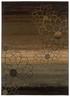 Oriental Weavers Hudson HU74 Brown