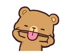 LINE Official Stickers - Milk & Mocha: Affection Example with GIF Animation Cute Cartoon Images, Cute Couple Cartoon, Cute Love Cartoons, Cartoon Gifs, Cute Cartoon Wallpapers, Cute Images For Wallpaper, Cute Bear Drawings, Kawaii Drawings, Cute Love Gif