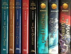 30 day book challenge. Day 3: Your favorite series. Very hard to choose, but I'm going to have to say Percy Jackson and the Olympians/Heroes of Olympus.