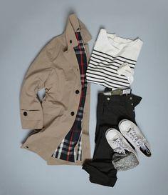Teenage Fashion Blog: Stripes # Plaid # Lovely Fall Teenage Fashion !