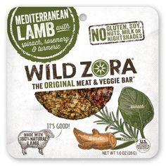 Wild Zora Original Meat & Veggie Bar Mediterranean Lamb
