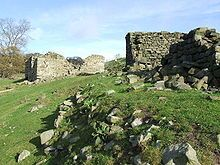 Derelict farm, north-west of Lindley