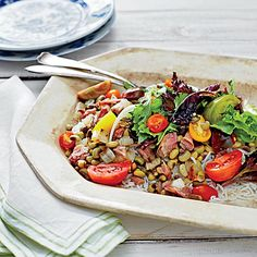 A New Year's tradition, Hoppin' John is usually served hot, but this cool salad is perfect for a summer picnic or lunch, or as a side...