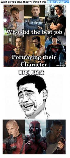 Ryan Reynolds was awesome as Deadpool #truestory #itwasmeanttobe