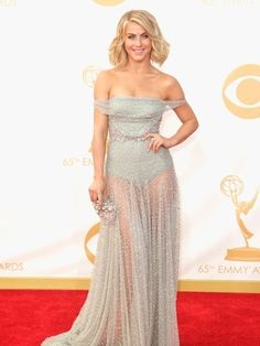 Julian Hough in Jenny Packham...if it were lined it would have been perfection... But still beautiful.