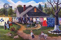 """Family Wagon"" Artist, Tom Antonishak ©"