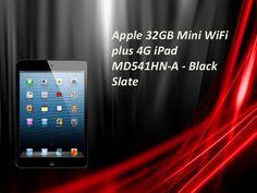 Apple 32 gb mini wifi plus 4g ipad md541hn a - black slate