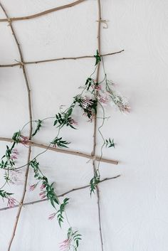 Hand-made trellis