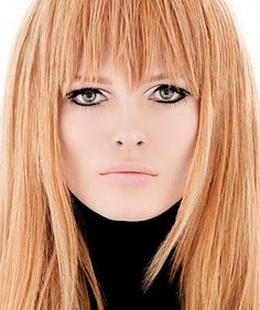 Americana Manhasset Autumn / Winter 2010 look book – hair bangs long Medium Hair Styles, Short Hair Styles, Strawberry Blonde Hair Color, Grunge Hair, Great Hair, Hair Today, Hairstyles With Bangs, Gorgeous Hair, Hair Trends