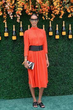 6/3/17 - Lais Ribeiro at The Tenth Annual Veuve Clicquot Polo Classic in Jersey City, NJ.