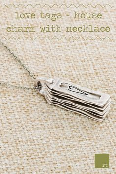 Keep your family with you wherever you go with the customizable collection of jewelry tags that represent the people and things that are most special to you. Stacked together within a compact, house-shaped charm, each individual tag slides onto the clasp and fans out to show the ones you care for that they are always near to your heart! Learn more at