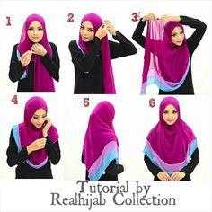 realhijab's photo on Instagram. This style works best using a long and wide shawl. Most importantly this style gives enough coverage.