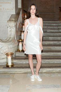Ruby Aldridge in Calvin Klein