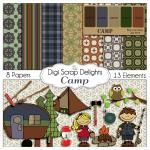 Free Digital Scrapbook Kit & Coupon – July Blog Train - Digital Scrapbooking Blog : Digital Scrapbooking Blog