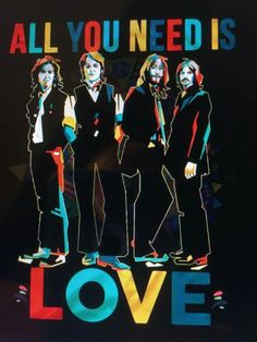 All You Need Is Love, I Fall In Love, Love Her, Les Beatles, Beatles Art, Really Good Quotes, Fabulous Four, She Loves You, Ringo Starr