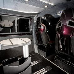The Manuello's VW Caravelle Conversion - New Wave Custom Conversions General Motors, Land Rover Defender, Vw Transporter Sportline, Conversation, Waves, T5, Campervan, The Originals, Motorhome