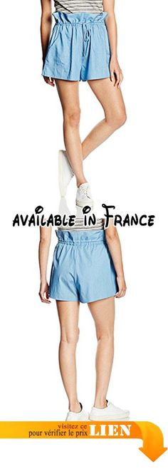 B01FX6560Y : C/MEO COLLECTIVE Floating High Short Femme Bleu - Blue (Chambray) 38. #Apparel #SHORTS