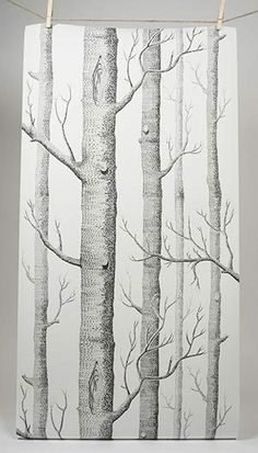 Branches in The Fall Trees Stem Twig with Last Few Leaves Minimalistic Design Art Pale Grey Brown Lunarable Leaf Place Mats Set of 4 Washable Fabric Placemats for Dining Room Kitchen Table Decor