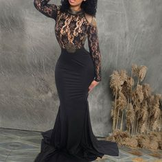 Sexy Lace Long Sleeve Backless Evening Dress – joymanmall a line formal dress dresses pretty wedding dresses colored a line dress formal Pretty Wedding Dresses, Cute Prom Dresses, Wedding Dress Sleeves, Colored Wedding Dresses, Wedding Dress Styles, Simple Dresses, Pretty Dresses, Women's Dresses, A Line Dress Formal