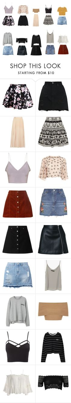 """""""love on top"""" by lilymadoxx on Polyvore featuring WithChic, Alice + Olivia, Alexander McQueen, Dorothy Perkins, Topshop, Miss Selfridge, Guild Prime, Steve J & Yoni P, MANGO and Blue Vanilla"""