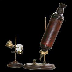imagen del primer microscopio - Buscar con Google