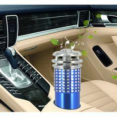 2016 새로운 자동차 공기 청정기 미니 자동차 자동차 신선한 공기 음이온 이온 청정기 산소 바 오존 이오 나이저 인테리어 액세서리 DC12V