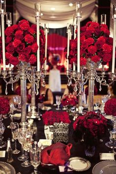 Black and Red wedding ideas - Wedding Newsday