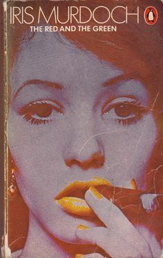 """""""The Red & The Green""""   Iris Murdoch  Penguin    my first iris murdoch book."""